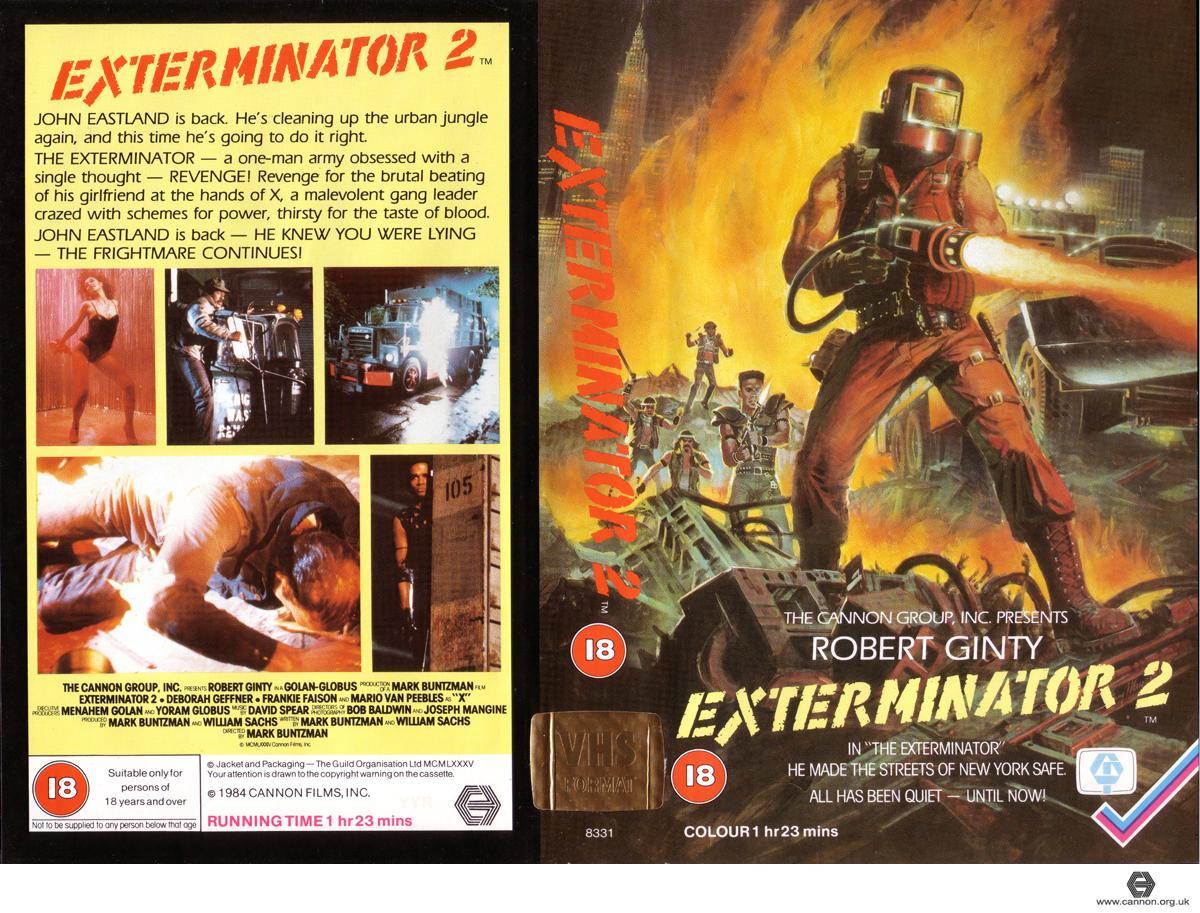 Exterminator 2 (UK VHS Guild Home Video) | Piano Necktie