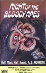 night of the bloody apes gorgon vhs front
