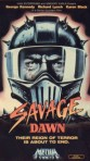 savage dawn media vhs front