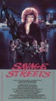 savage streets vestron vhs front