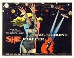 astounding_she_monster_poster_03 50s 1950s Poster Movie Girls Women Bad Illustration Pulp Exploitation
