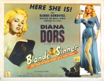 blonde_sinner_poster_03 50s 1950s Poster Movie Girls Women Bad Illustration Pulp Exploitation