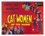 cat_women_of_moon_poster_02 50s 1950s Poster Movie Girls Women Bad Illustration Pulp Exploitation