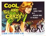 cool_and_crazy_poster_02 50s 1950s Poster Movie Girls Women Bad Illustration Pulp Exploitation