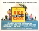 high_school_confidential_poster_03 50s 1950s Poster Movie Girls Women Bad Illustration Pulp Exploitation