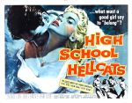 high_school_hellcats_poster_02 50s 1950s Poster Movie Girls Women Bad Illustration Pulp Exploitation