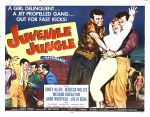 juvenile_jungle_poster_02 50s 1950s Poster Movie Girls Women Bad Illustration Pulp Exploitation