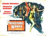 prehistoric_women_1950_poster_02 50s 1950s Poster Movie Girls Women Bad Illustration Pulp Exploitation