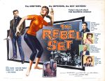 rebel_set_poster_02 50s 1950s Poster Movie Girls Women Bad Illustration Pulp Exploitation