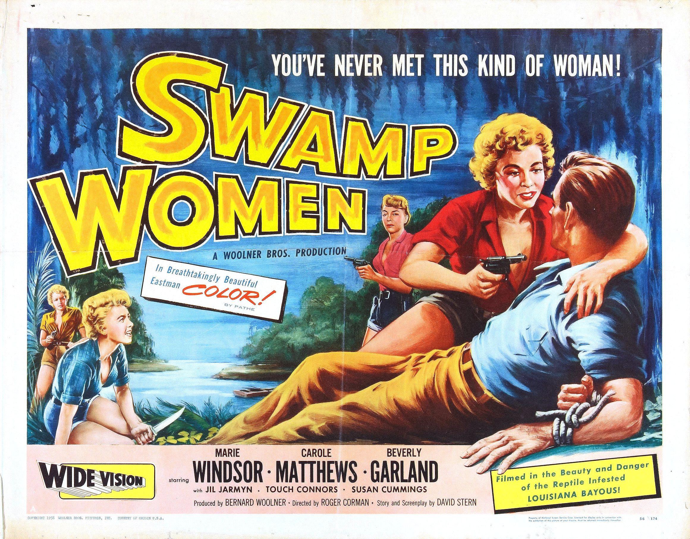 swampwomenposter03 50s 1950s poster movie girls women