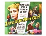 teenage_bad_girl_poster_01 50s 1950s Poster Movie Girls Women Bad Illustration Pulp Exploitation
