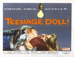 teenage_doll_poster_02 50s 1950s Poster Movie Girls Women Bad Illustration Pulp Exploitation