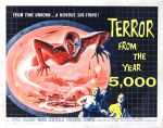 terror_from_year_5000_poster_02 50s 1950s Poster Movie Girls Women Bad Illustration Pulp Exploitation