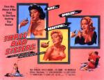 three_bad_sisters_poster_02 50s 1950s Poster Movie Girls Women Bad Illustration Pulp Exploitation