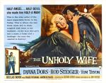 unholy_wife_poster_0250s 1950s Poster Movie Girls Women Bad Illustration Pulp Exploitation