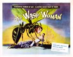 wasp_woman_poster_0250s 1950s Poster Movie Girls Women Bad Illustration Pulp Exploitation