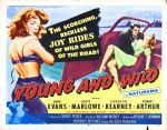young_and_wild_poster_0250s 1950s Poster Movie Girls Women Bad Illustration Pulp Exploitation